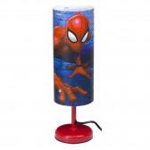 Spiderman Cylindre Nachttischlampe - 29 CM - Rouge