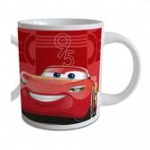 Mug Cars Disney Ceramics - Rouge