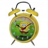 Réveil Bob l'éponge jaune 13 CM