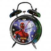 Spiderman metalen wekker 18 cm