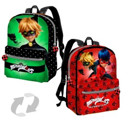Ladybug Miraculous Reversible Backpack 38 CM