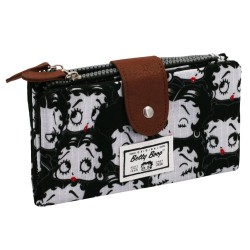 Betty Boop Black Wallet 19 CM
