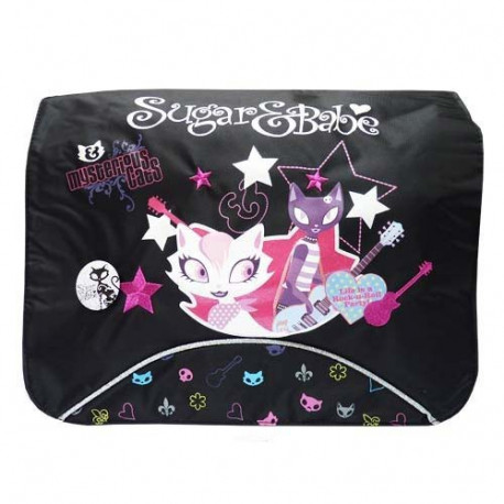 Suiker & Babe Rock zwart 37 CM Sling bag