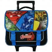 Cartable à roulettes Avengers Bleu 38 CM