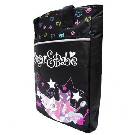 Sugar Babe y gran modelo de bolso de compras negro