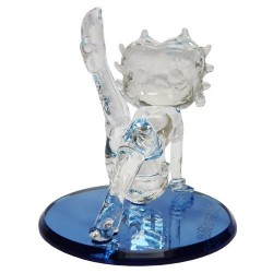 Figurine Betty Boop PIN UP en verre