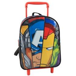 Borsa Avengers 30 CM Trolley Kindergarten Wheel