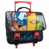Avengers Blue 38 CM wheeled binder