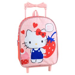 Hallo Kitty 34 CM Trolley Kindergarten Rucksack
