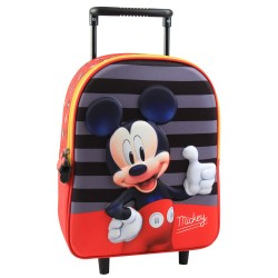Mickey 30 CM Trolley Kindergarten Wheel Bag