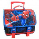 Cartable à roulettes Spiderman 40 CM