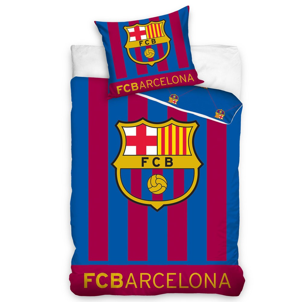 funda de almohada FC Barcelona Kissenbezug 40x40cm pillowcase federa housse de coussin