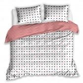 Parure de lit en coton 220x200 cm et Taies d'oreiller