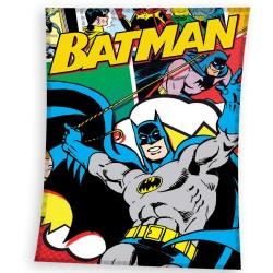 Plaid polaire Batman 110 x 140 cm - Couverture