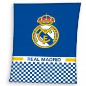 Plaid polaire Real Madrid 110 x 140 cm - Couverture