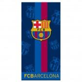 Serviette drap de bain FC Barcelone 140x70 cm