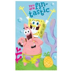 SpongeBob Asciugamano 30x50 CM