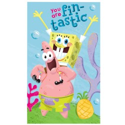 SpongeBob Handdoek 30x50 CM