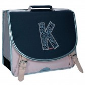 Cartable IKKS Urban Nomad Gris 38 CM