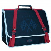 Cartable IKKS Boy Pilot Bleu 38 CM