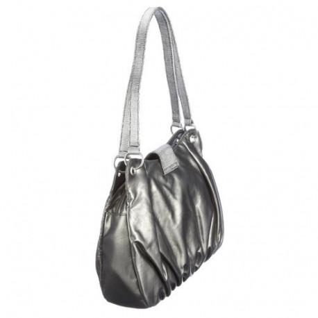 Playboy-Pop Silber-Handtasche