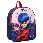 Sac à dos Ladybug Miraculous Super Secret 3D 31 CM - Cartable maternelle