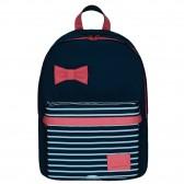 IKKS Black Tea L Black 43 CM Backpack - High-end
