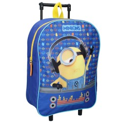 Minions Travel In Style 39 CM Wheeled Backpack - Cartable