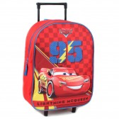 Sac à roulettes Cars 3 Disney Ride The Circuit 39 CM - Cartable