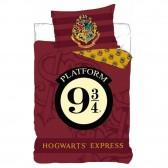 Parure housse de couette Harry Potter 140x200 cm et Taie d'oreiller