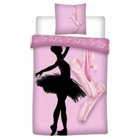 Ballerina duvet cover 140x200 cm and pillow taie