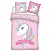 Lama duvet cover 140x200 cm and pillow taie
