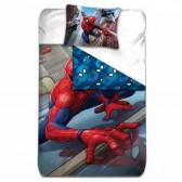 Parure housse de couette Spiderman Marvel 140x200 cm et Taie d'oreiller