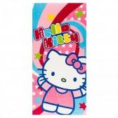 Serviette de plage coton Hello Kitty 140x70 cm