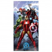 Serviette drap de bain Avengers 140x70 cm