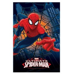 Spiderman Polar Plaid 100 x 150 cm - Marvel Cover