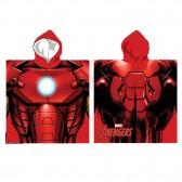 Poncho de bain à capuche Iron Man - Avengers