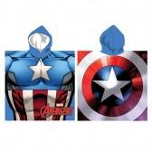 Iron Man Hooded Bath Poncho - Avengers