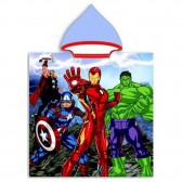 Poncho de baño con capucha Avengers