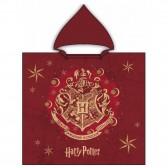 Poncho de bain à capuche coton Harry Potter