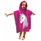 Snow Queen Hooded Bath Poncho