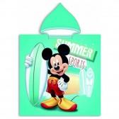 Poncho de bain à capuche Mickey