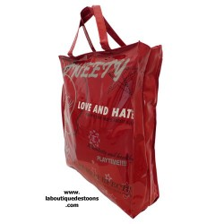 Handbag red Titi