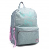 Marshmallow Straw Grey Backpack 40 CM - 2 Cpts
