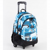 Rolling Backpack Rip Curl Proschool Toucan Flora 46 CM - Trolley