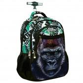 Sac à dos à roulettes No Fear Gorille 48 CM - Cartable