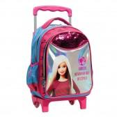 Sac à dos à roulettes Barbie Smiles maternelle 31 CM