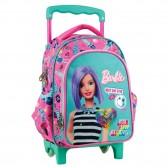 Barbie kleuterschool pailletten rugzak 31 CM