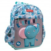 Sac à dos maternelle Fisher Price Elephant30 CM - Cartable