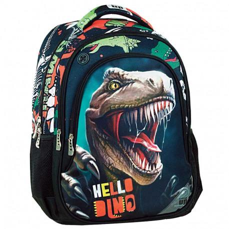 Sac à dos Hello Dino 45 CM - 2 Cpt